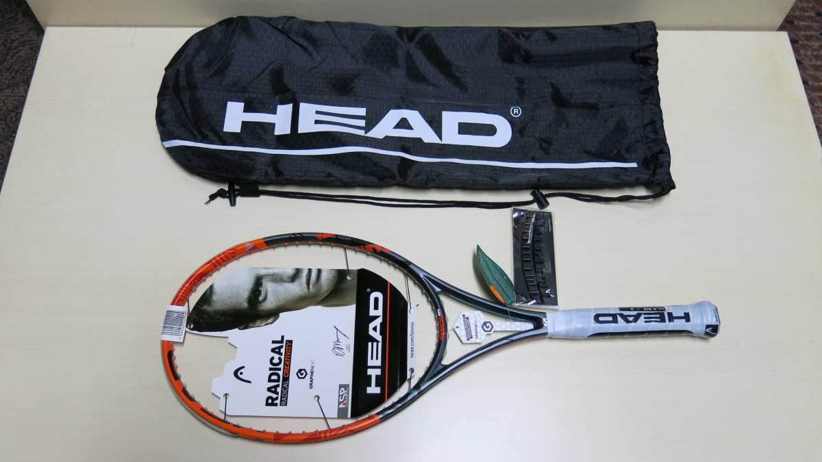 新品 HEAD ヘッド ラケット Graphene XT Radical MPA 230226 -UJ3 -11CN size4 3/8 - 3 ガット無し_画像1