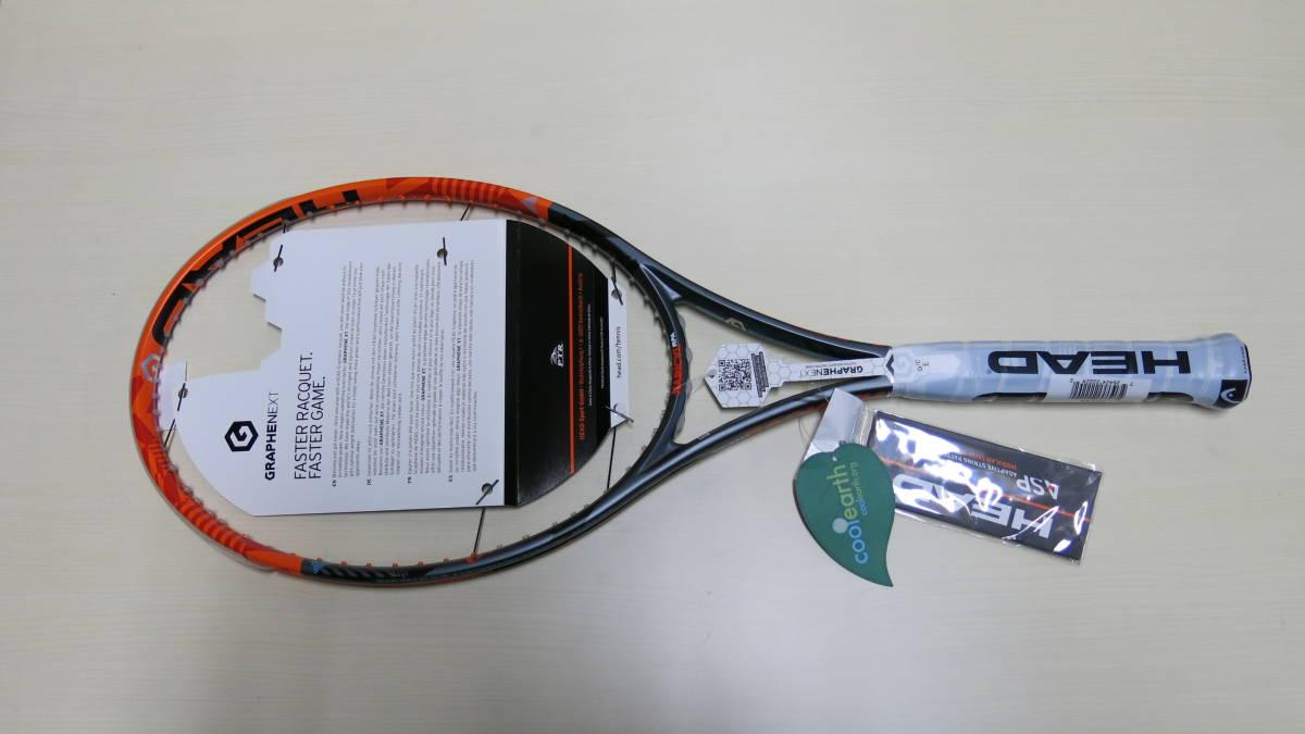 新品 HEAD ヘッド ラケット Graphene XT Radical MPA 230226 -UJ3 -11CN size4 3/8 - 3 ガット無し_画像4