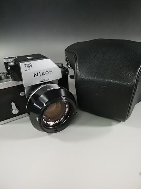 【カメラ】Nikonニコン F 7089702 レンズ NIKKOR-S AUTO 1:1.4 f=50mm ニコンF 一眼レフ