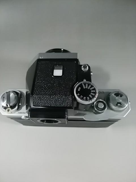 【カメラ】Nikonニコン F 7089702 レンズ NIKKOR-S AUTO 1:1.4 f=50mm ニコンF 一眼レフ_画像8