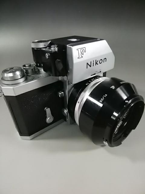 【カメラ】Nikonニコン F 7089702 レンズ NIKKOR-S AUTO 1:1.4 f=50mm ニコンF 一眼レフ_画像10