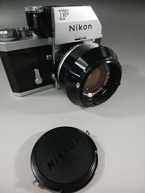 【カメラ】Nikonニコン F 7089702 レンズ NIKKOR-S AUTO 1:1.4 f=50mm ニコンF 一眼レフ_画像2