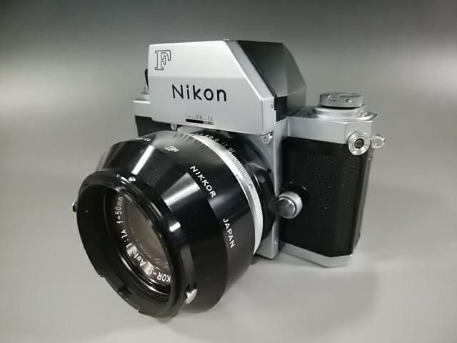 【カメラ】Nikonニコン F 7089702 レンズ NIKKOR-S AUTO 1:1.4 f=50mm ニコンF 一眼レフ_画像5