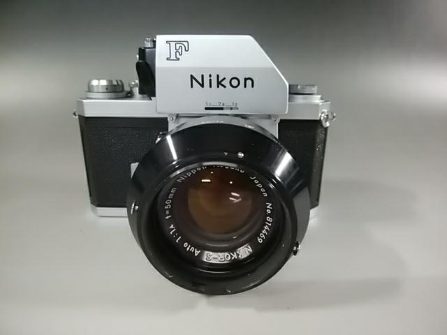【カメラ】Nikonニコン F 7089702 レンズ NIKKOR-S AUTO 1:1.4 f=50mm ニコンF 一眼レフ_画像3