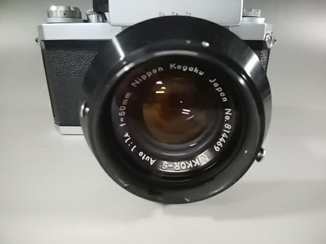 【カメラ】Nikonニコン F 7089702 レンズ NIKKOR-S AUTO 1:1.4 f=50mm ニコンF 一眼レフ_画像4