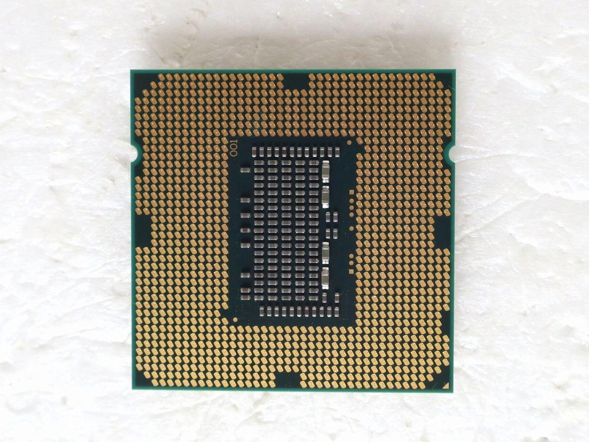 Intel Core i5-760/4コア/2.8~3.33GHz/SLBRP/LGA1156 ■32_裏側です