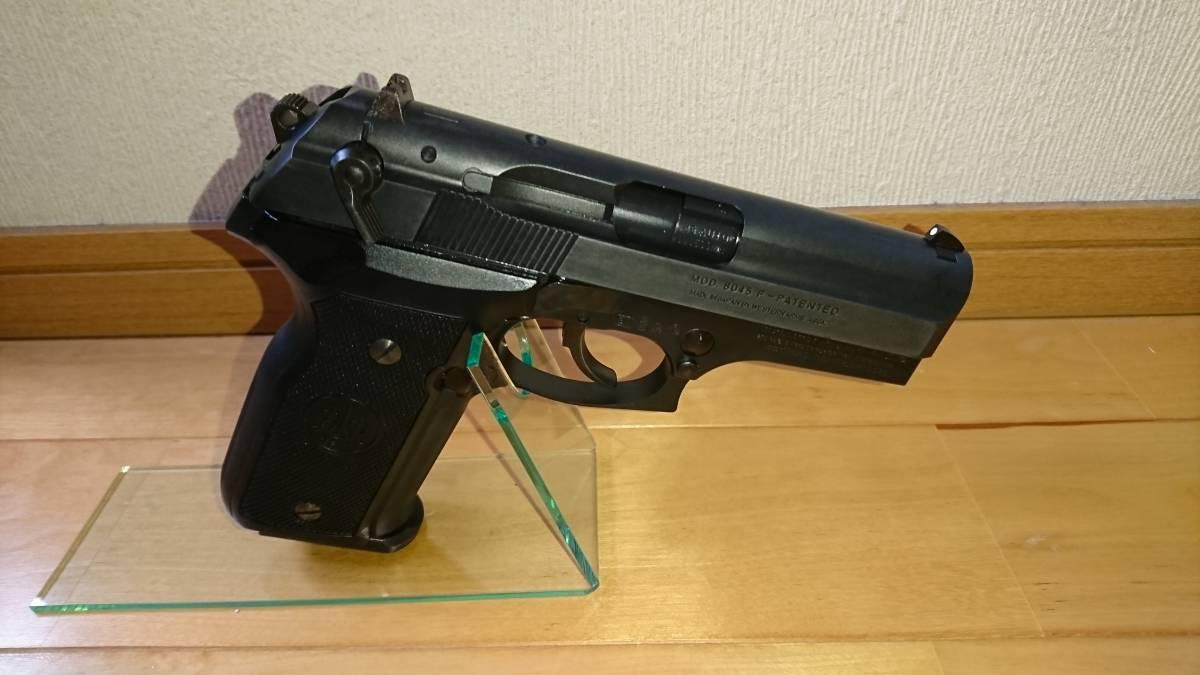 WA Beretta M8045F クーガー カーボンブラック ガスブローバックガン_画像2