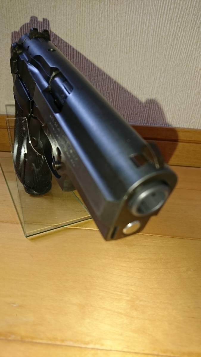 WA Beretta M8045F クーガー カーボンブラック ガスブローバックガン_画像4