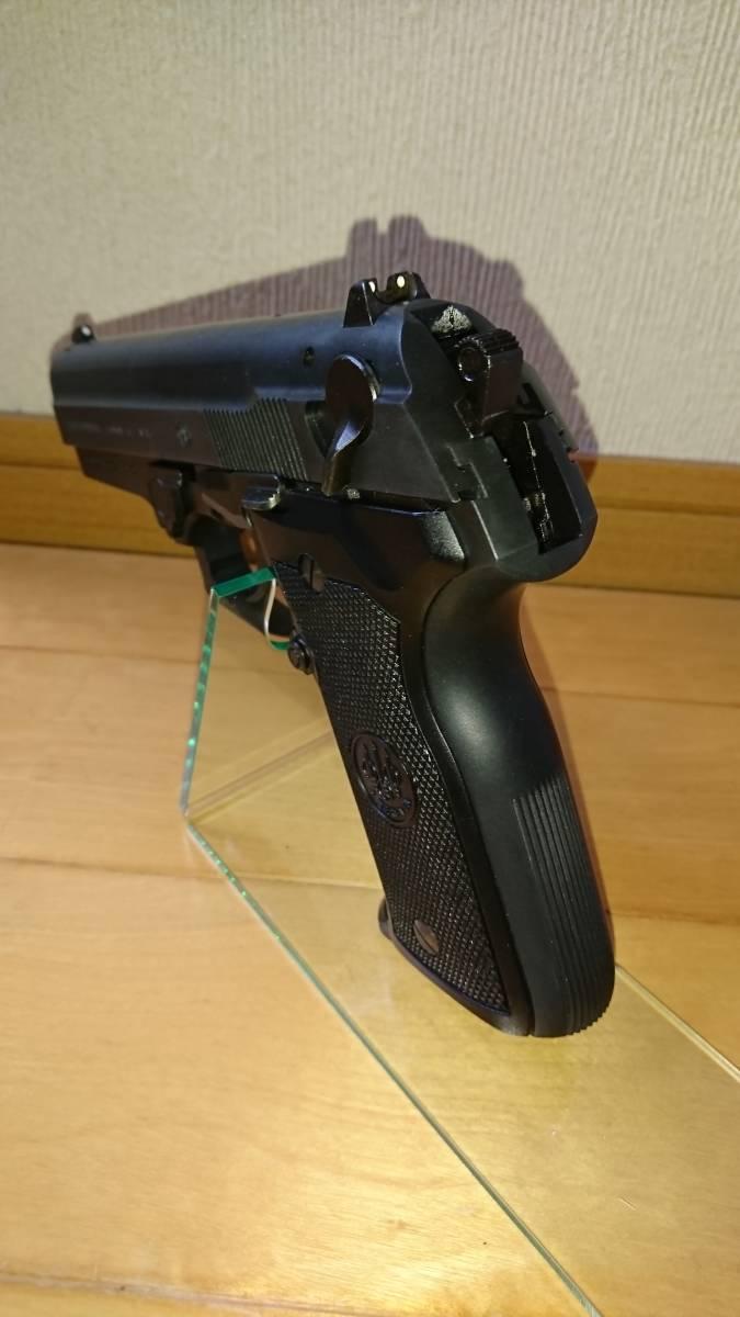 WA Beretta M8045F クーガー カーボンブラック ガスブローバックガン_画像5