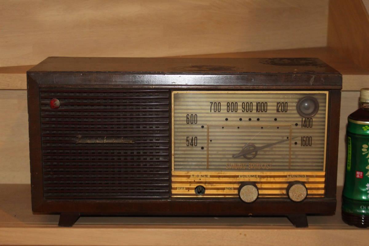 真空管ラジオ 東芝 5球スーパー 6UA-16 マツダ 通電のみ確認済み ジャンク品(検索)昭和レトロ アンティーク ビンテージ