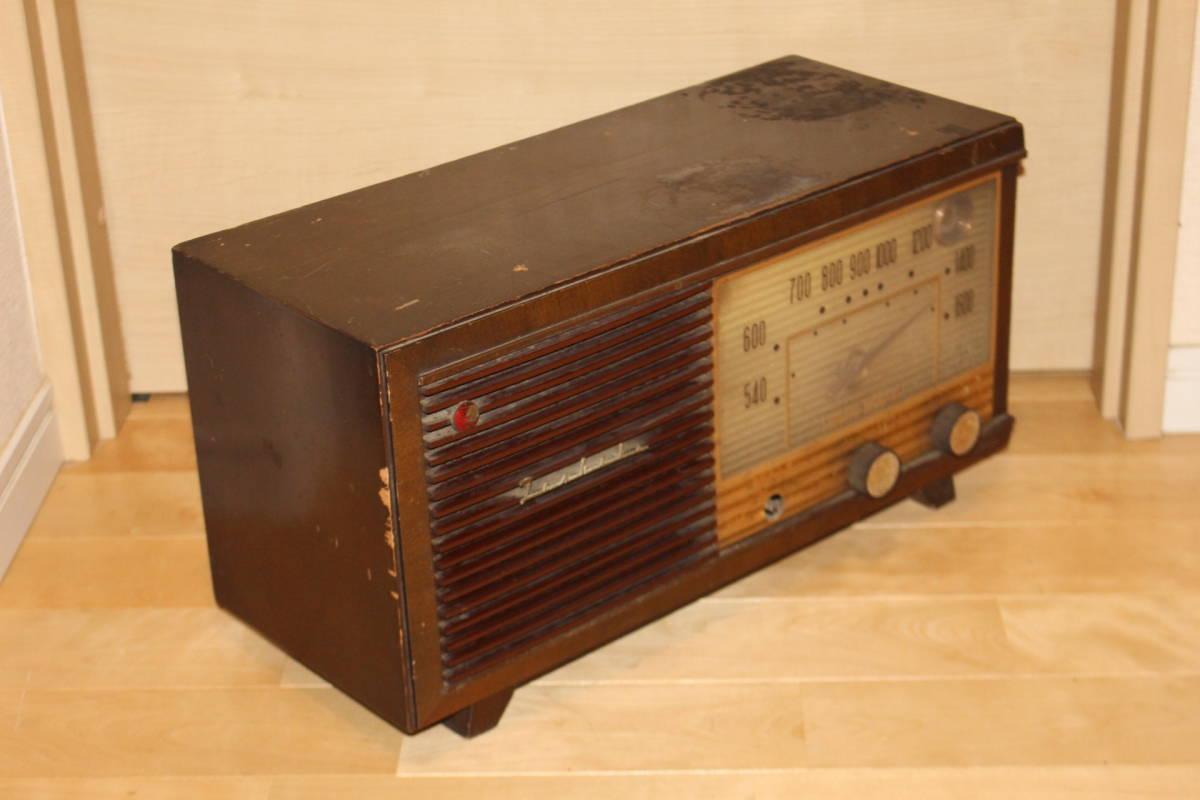 真空管ラジオ 東芝 5球スーパー 6UA-16 マツダ 通電のみ確認済み ジャンク品(検索)昭和レトロ アンティーク ビンテージ _画像5