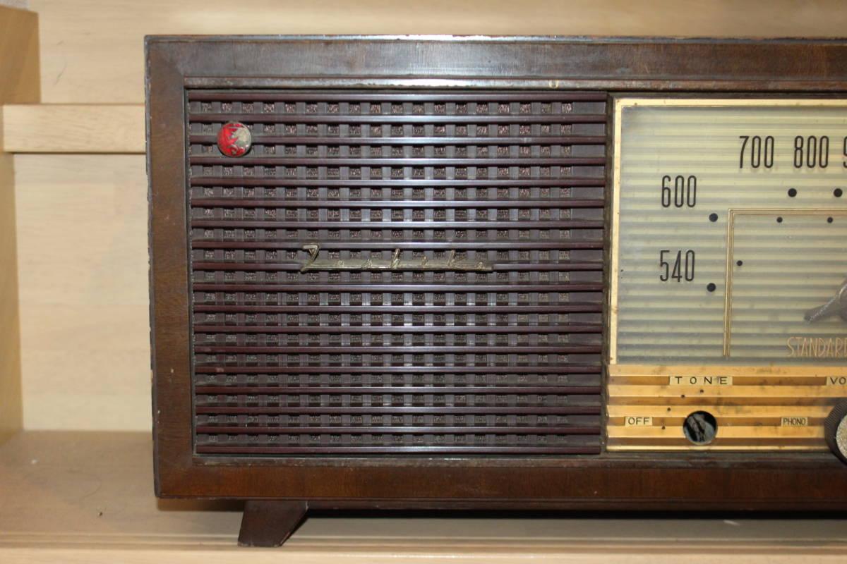 真空管ラジオ 東芝 5球スーパー 6UA-16 マツダ 通電のみ確認済み ジャンク品(検索)昭和レトロ アンティーク ビンテージ _画像2
