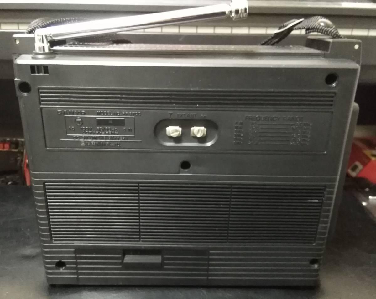 FM拡張済 SANYO(サンヨー)製 RP-8700 BCLラジオ_画像4