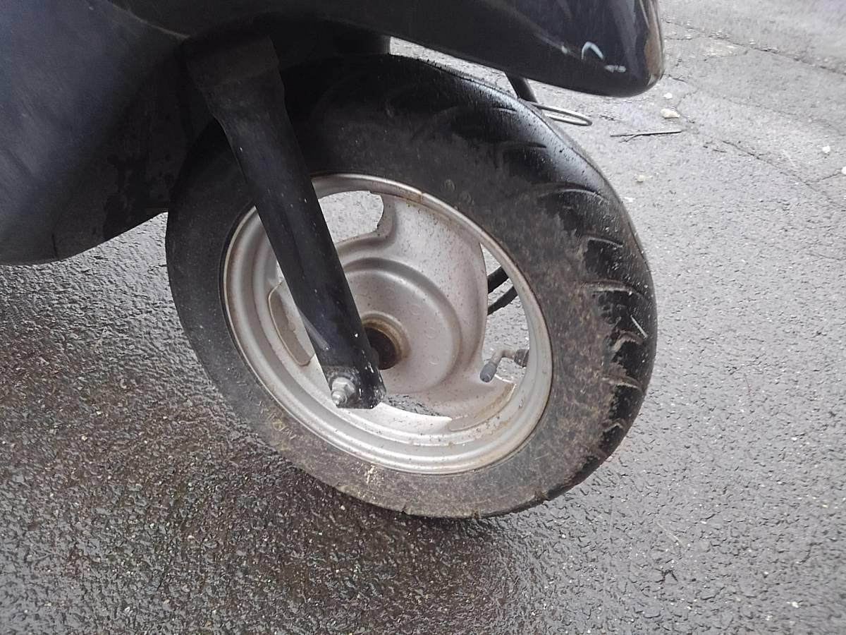 山形発!! バイク スクーター ヤマハ JOG SA36J 50cc 走行距離:10487キロ エンジン始動OK 売切!!_画像7