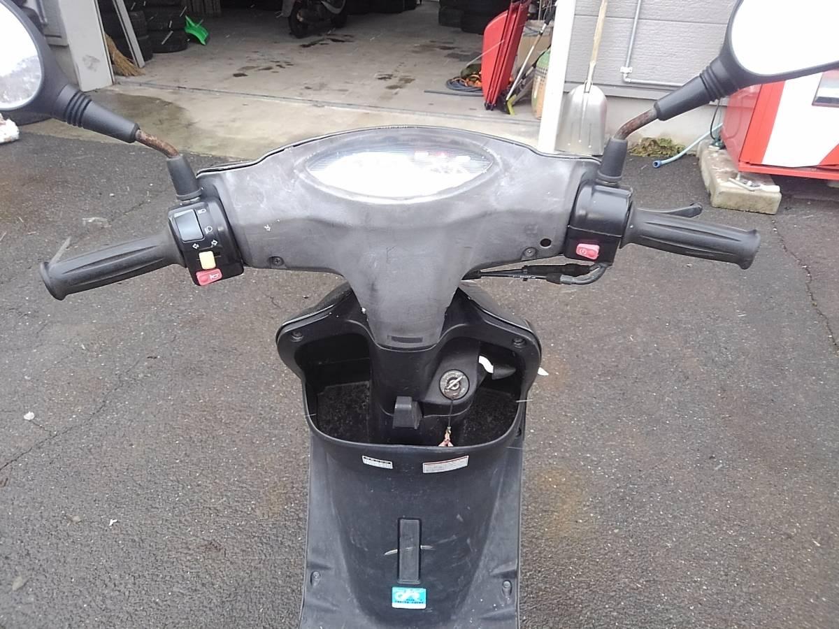 山形発!! バイク スクーター ヤマハ JOG SA36J 50cc 走行距離:10487キロ エンジン始動OK 売切!!_画像3