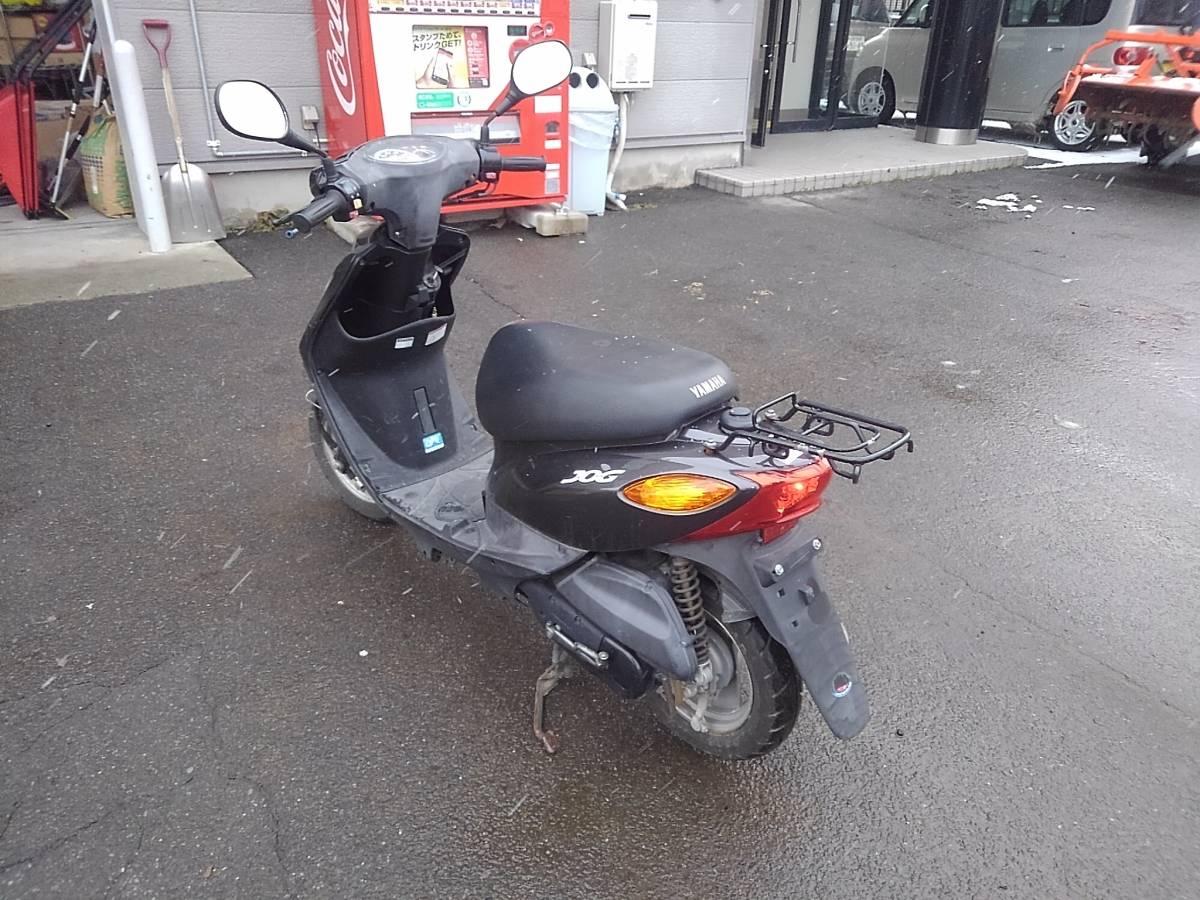 山形発!! バイク スクーター ヤマハ JOG SA36J 50cc 走行距離:10487キロ エンジン始動OK 売切!!_画像2