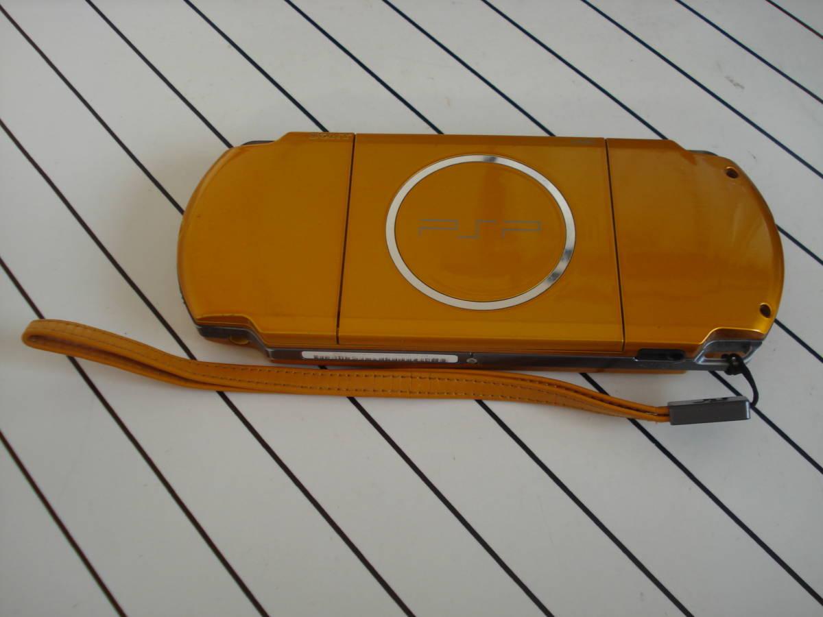 美品!★SONY PSP-3000 本体 ブライト・イエロー 完動良品 ★送料215円_画像2
