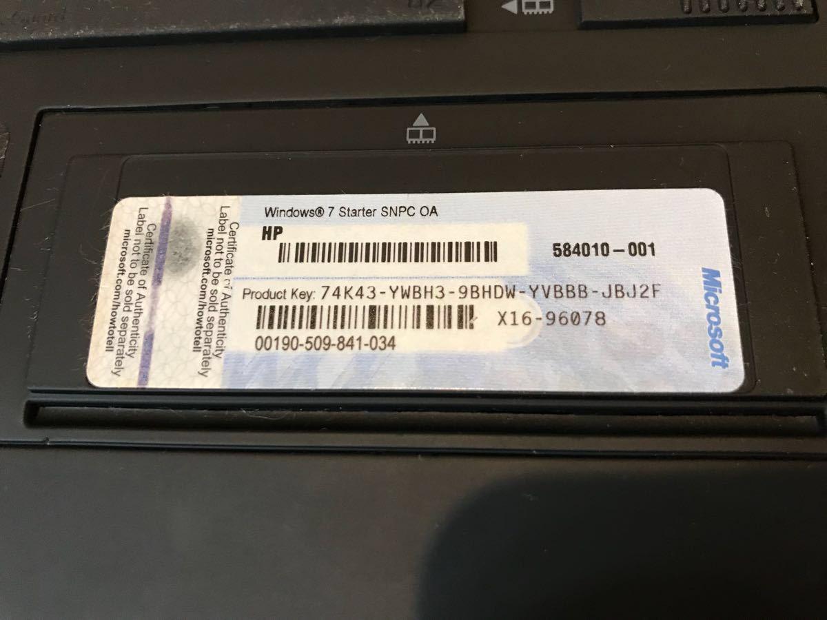 [美品] HP Mobile PC HP Mini 5103_画像6