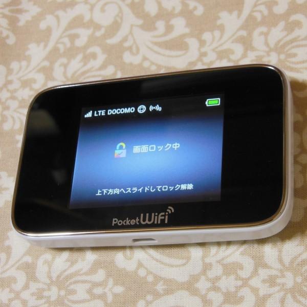 SIM フリー モバイル ルーター Pocket WiFi 301HW スピカホワイト(中古) 格安simでのご利用に