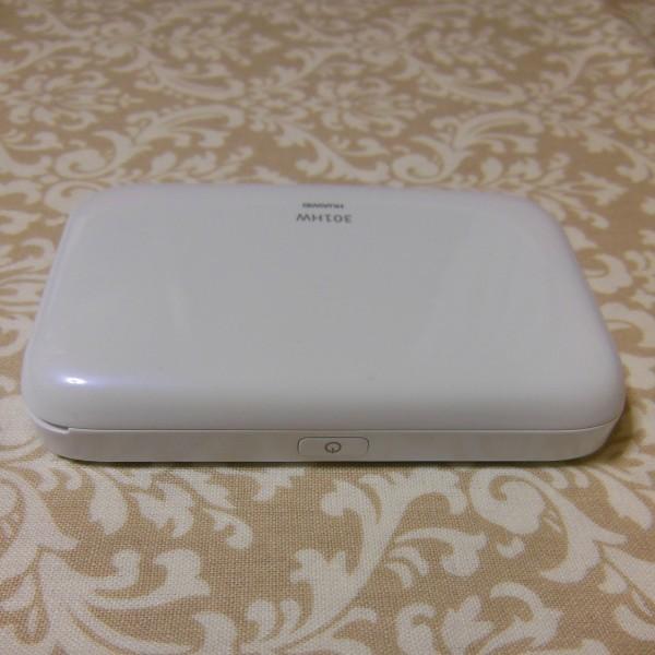SIM フリー モバイル ルーター Pocket WiFi 301HW スピカホワイト(中古) 格安simでのご利用に_画像6