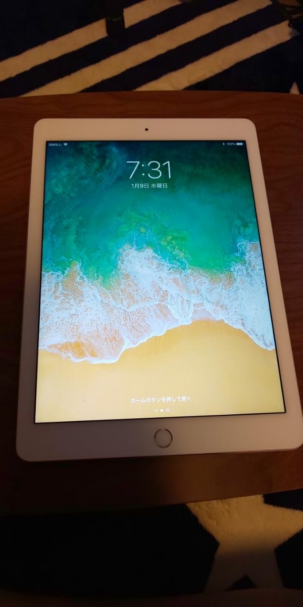 [APPLE]iPad Air 2 Wi-Fi+Cellular 16GB MGH72J/A SIMフリー美品 保証付き