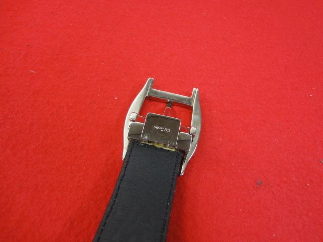 【カルティエ】本物 Cartier ベルト トーチュバックル クロコダイル 全長100cm 幅3cm 黒色 ワニ革 男性用 メンズ サイズ調整可能 送料510円_画像3