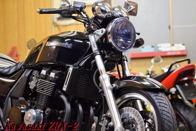 Kawasaki ZRX-2 ZR400E 車検31年8月 MADMAX集合管 川口タックロールシート OHLINSリアサス 整備済 WAKO,Sオイル レスポンス抜群 E/G絶好調_画像5