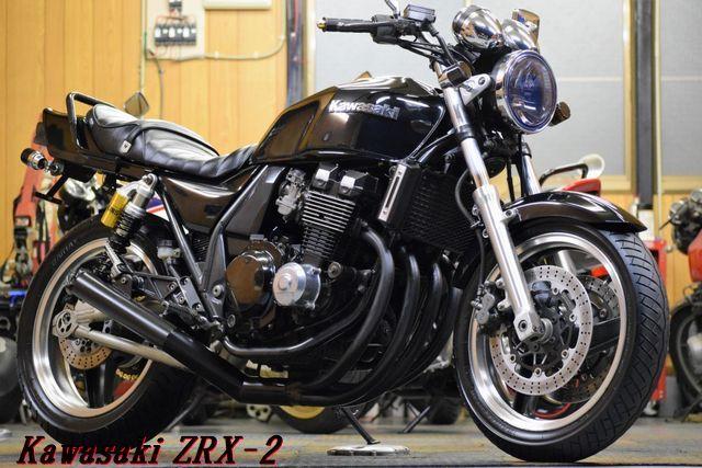 Kawasaki ZRX-2 ZR400E 車検31年8月 MADMAX集合管 川口タックロールシート OHLINSリアサス 整備済 WAKO,Sオイル レスポンス抜群 E/G絶好調