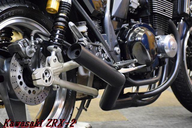 Kawasaki ZRX-2 ZR400E 車検31年8月 MADMAX集合管 川口タックロールシート OHLINSリアサス 整備済 WAKO,Sオイル レスポンス抜群 E/G絶好調_画像9