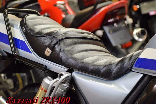 Kawasaki ZRX400 ZR400E 車検31年12月 BEET製マフラー 川口タックロールシート DAYTONAバー 整備済 WAKO,Sオイル レスポンス抜群 E/G絶好調_画像8