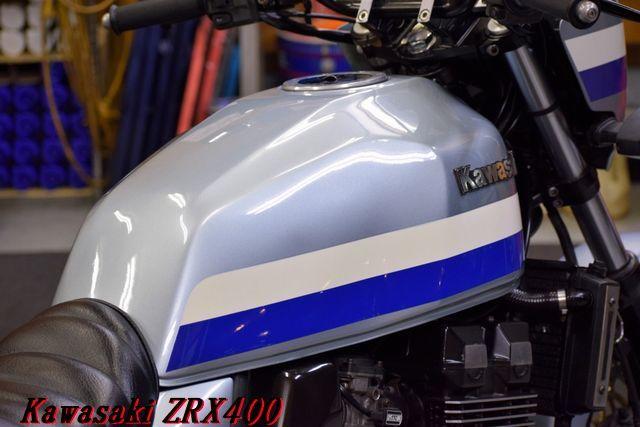 Kawasaki ZRX400 ZR400E 車検31年12月 BEET製マフラー 川口タックロールシート DAYTONAバー 整備済 WAKO,Sオイル レスポンス抜群 E/G絶好調_画像7