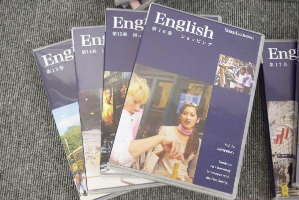 ☆☆スピードラーニング英語 初級1~16巻 + 中級17~22巻 CD+テキスト_画像5