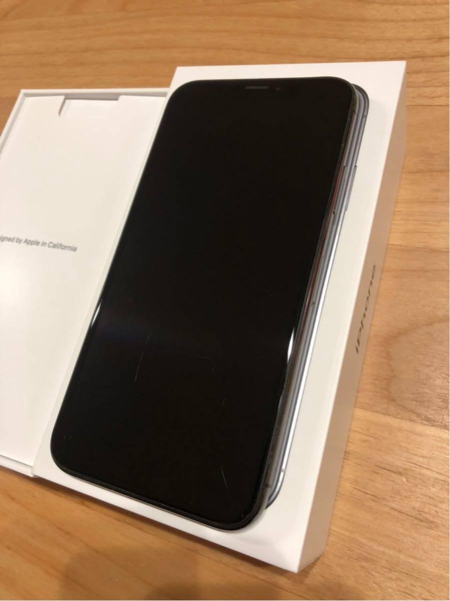 iPhone X スペースグレー 256GB SIMロック解除済み ジャンク_画像5