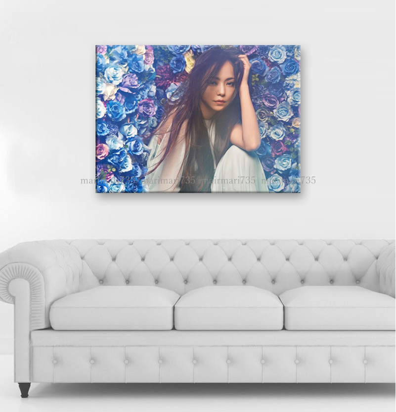3L安室奈美恵特大アートパネル75×50cm大型木枠フレーム張りキャンバスパネル完成品アートボードインテリア特注壁掛けポスターグッズ即決有_画像3