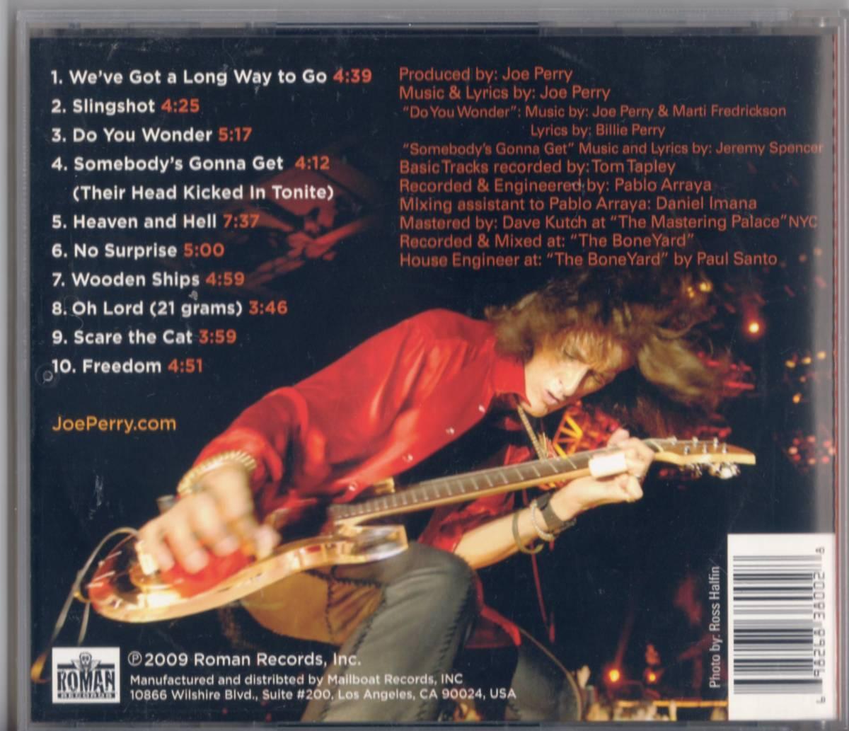 Joe Perryジョー・ペリー /Have Guitar, Will Travel【エアロスミスAerosmith関連ソロ】2009年_画像2