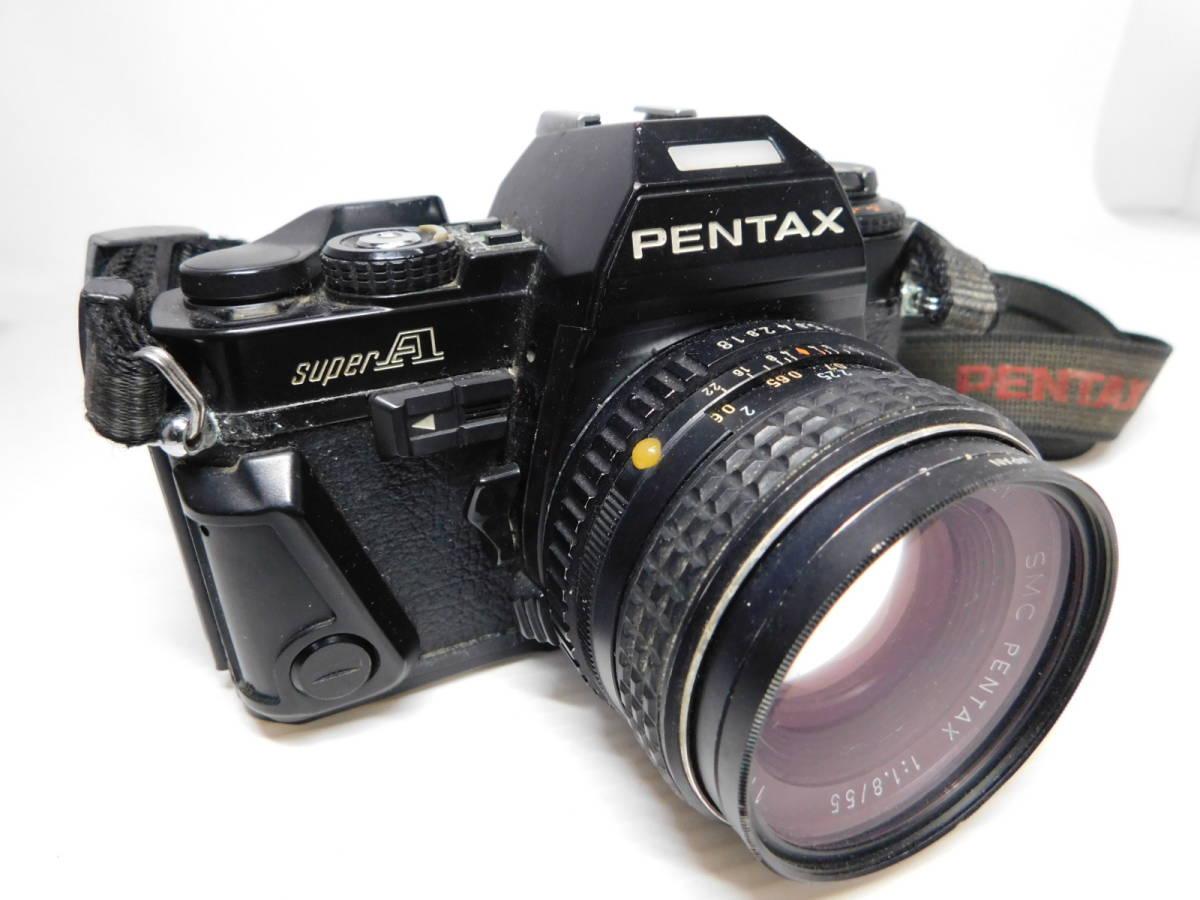 色々宝物??/PENTAX/MF 一眼レフカメラ/ボディ レンズ/色々まとめセット/ZOOM 単焦点 等/SP SL 他/ペンタックス/動未確 ジャンク/管A0126_画像2
