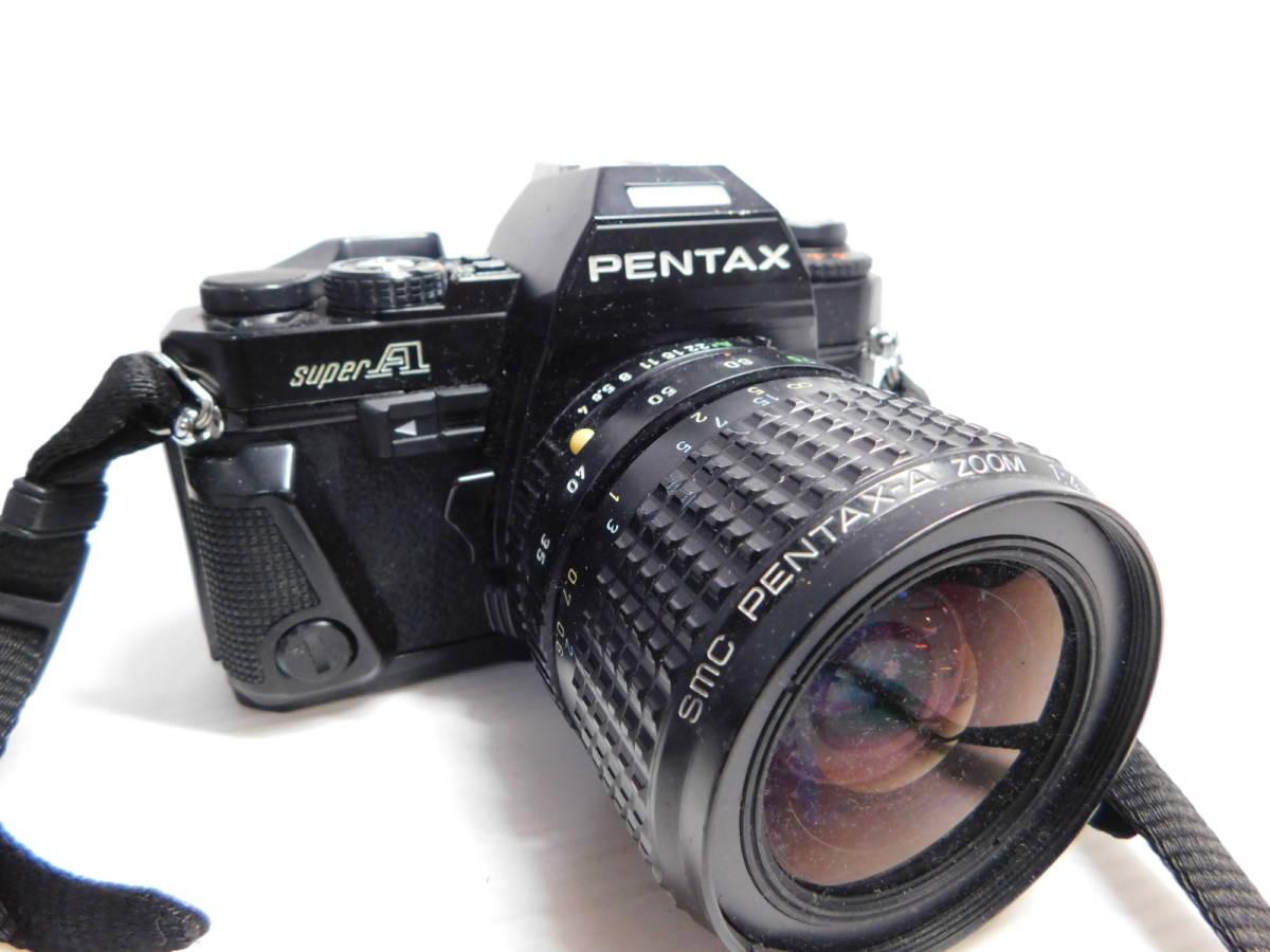 色々宝物??/PENTAX/MF 一眼レフカメラ/ボディ レンズ/色々まとめセット/ZOOM 単焦点 等/SP SL 他/ペンタックス/動未確 ジャンク/管A0126_画像4