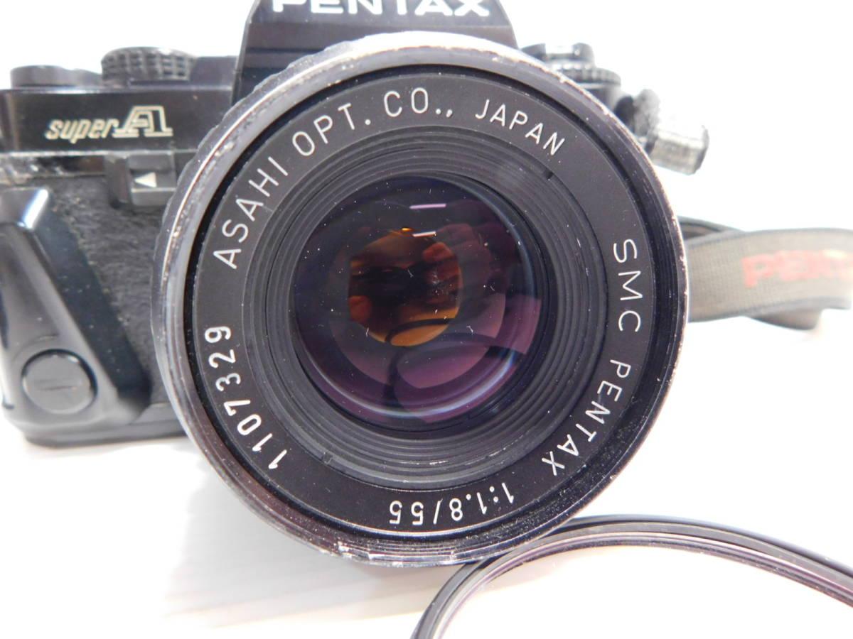 色々宝物??/PENTAX/MF 一眼レフカメラ/ボディ レンズ/色々まとめセット/ZOOM 単焦点 等/SP SL 他/ペンタックス/動未確 ジャンク/管A0126_画像3