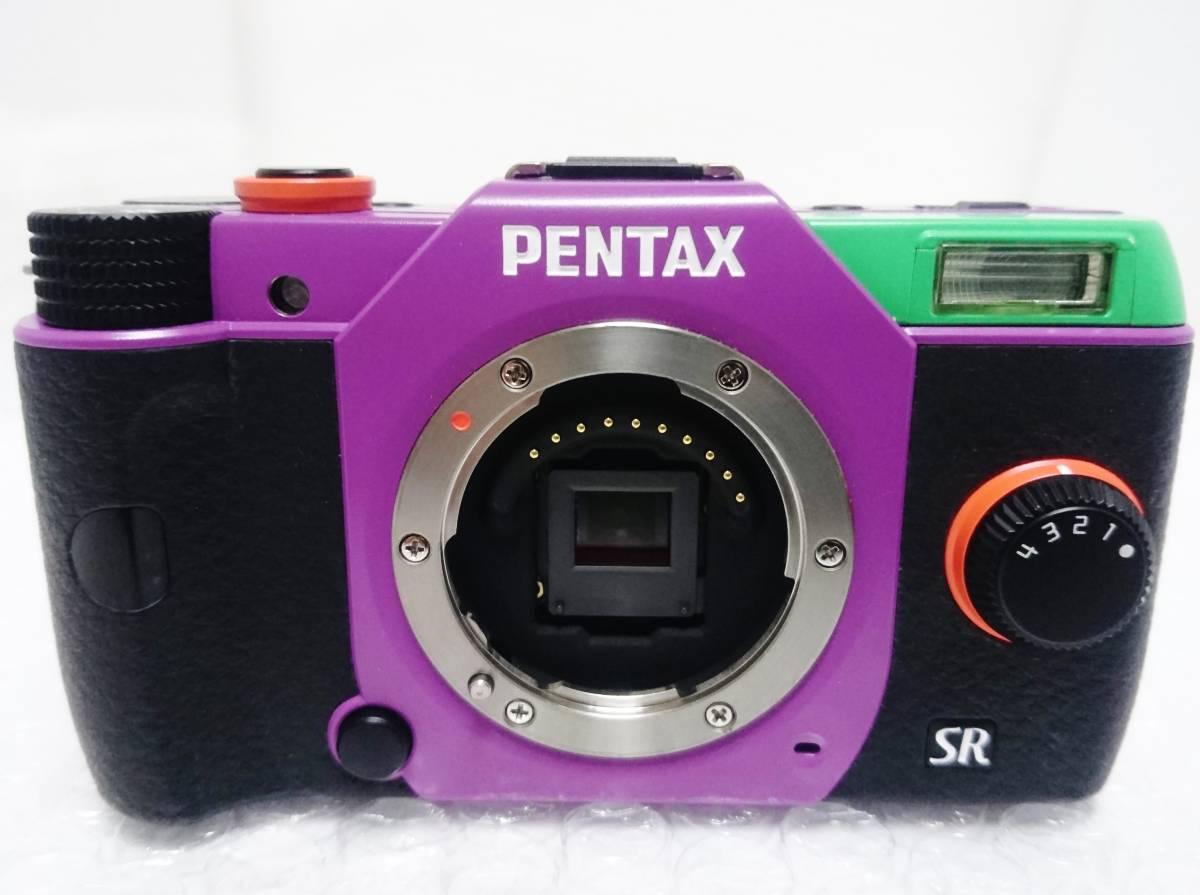 美品+限定生産1500台 PENTAX Q10 エヴァンゲリオンモデル 02 STANDARD ZOOM TYPE 01:初号機 ズームレンズキット ペンタックス_画像2