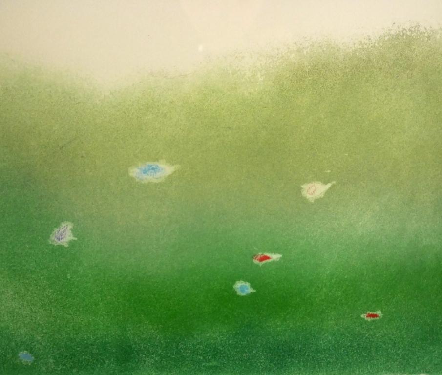 イウジェニオ・カルミ『抽象』◆銅版画◆直筆サイン有◆限定200版!イタリア人気作家!独自の世界観!額装_画像8