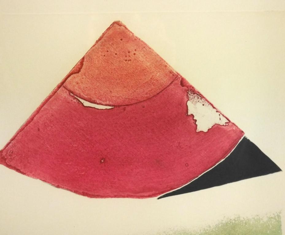 イウジェニオ・カルミ『抽象』◆銅版画◆直筆サイン有◆限定200版!イタリア人気作家!独自の世界観!額装_画像7