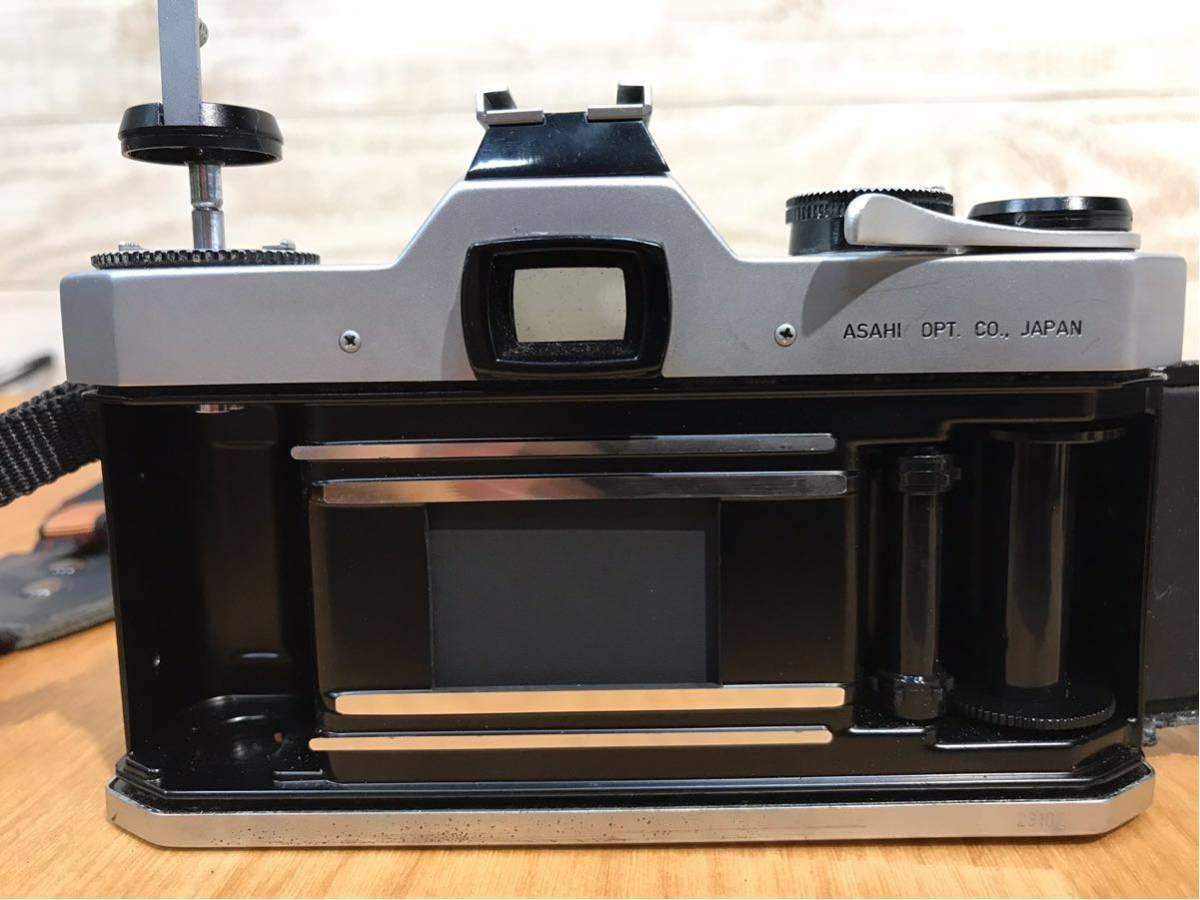 ASAHI PENTAX SPOTMATIC カメラ ボディ レンズ FISH-EYE-TAKUMAR 1:4/17 中古品 動作未確認 ジャンク品_画像8