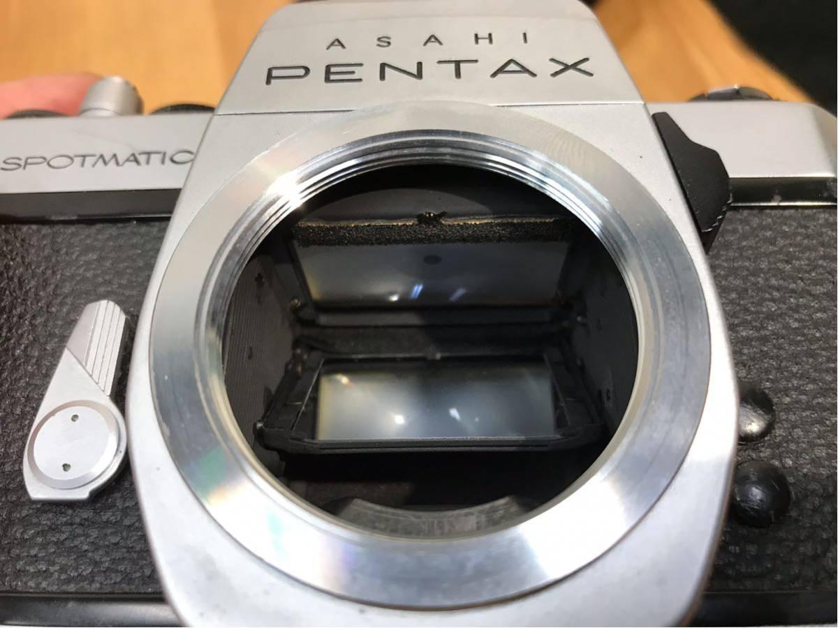 ASAHI PENTAX SPOTMATIC カメラ ボディ レンズ FISH-EYE-TAKUMAR 1:4/17 中古品 動作未確認 ジャンク品_画像10