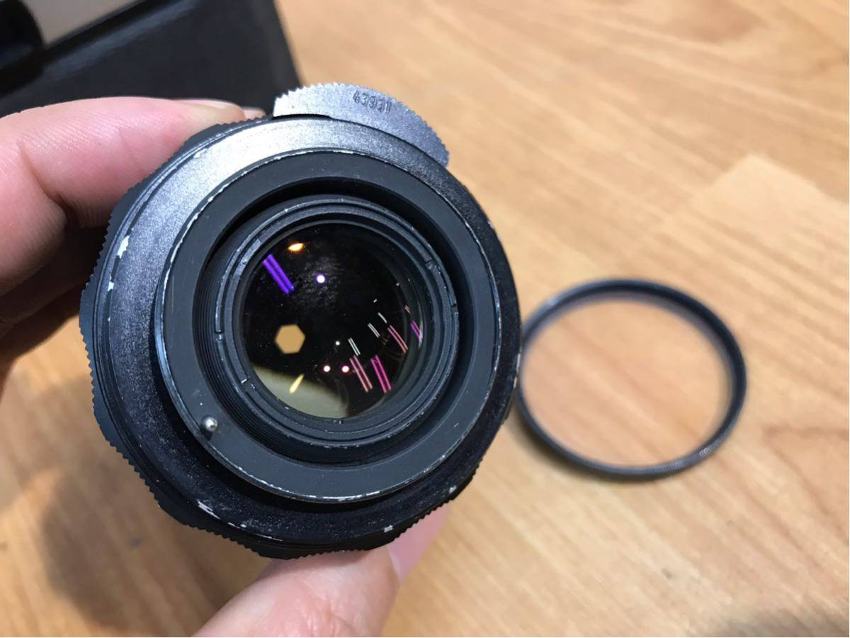 ASAHI PENTAX SPOTMATIC カメラ ボディ レンズ supfer-takumar 1:2/35 中古品 動作未確認 ジャンク品_画像10
