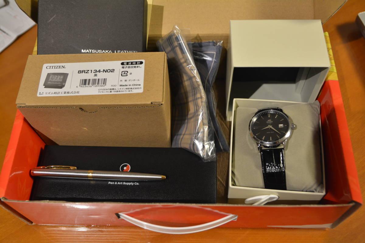 【新品未使用品】 ヨドバシカメラ メンズウォッチの夢 ORIENT 夢のお年玉箱 福袋 2019年 自動巻き腕時計 SER27006B0 裏スケルトン