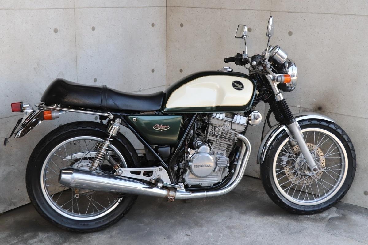 横浜~ HONDA GB250 クラブマン 後期 1995年モデル S型 綺麗 好調_画像10