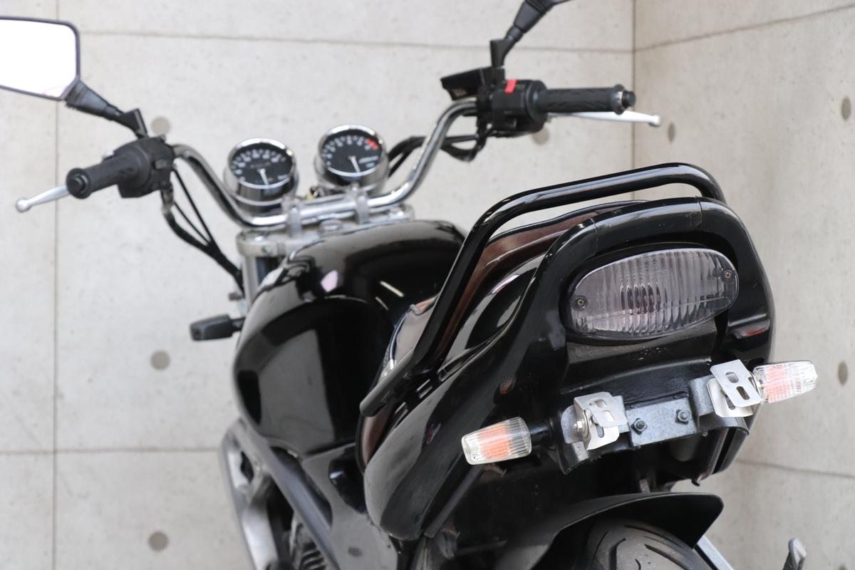横浜~ Kawasaki バリオス 規制前 A1 ブラック カスタム 自賠責付き 好調_画像8