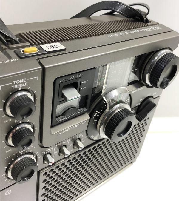 X1●SONY/スカイセンサー ICF-5900 5バンドマルチバンドレシーバー 前期型 ソニー 純正ACアダプター_画像4