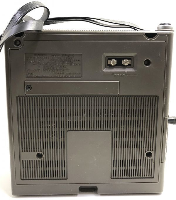 X1●SONY/スカイセンサー ICF-5900 5バンドマルチバンドレシーバー 前期型 ソニー 純正ACアダプター_画像6