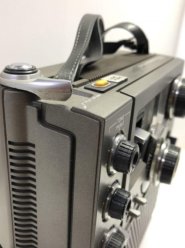 X1●SONY/スカイセンサー ICF-5900 5バンドマルチバンドレシーバー 前期型 ソニー 純正ACアダプター_画像9